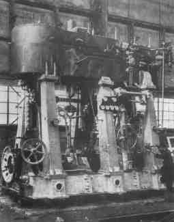 Main engine before installation